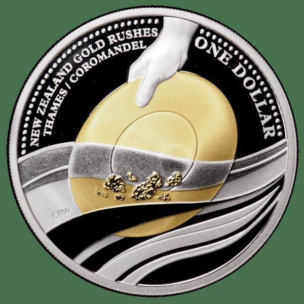 1 доллар 2006 года «Золотая лихорадка»