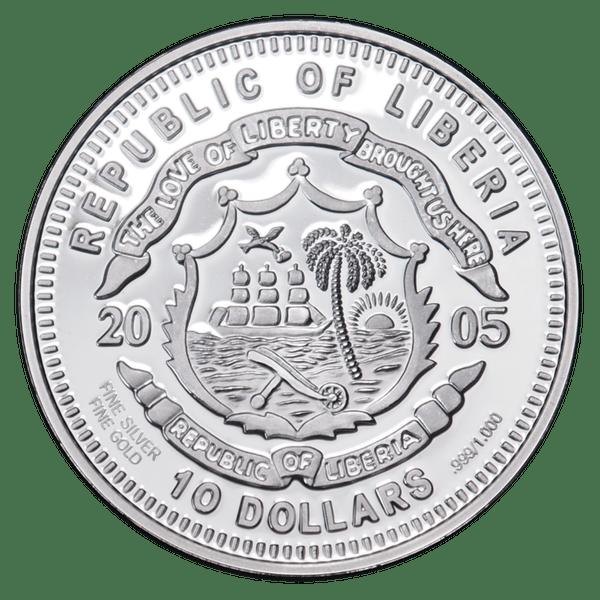 10 долларов 2005 года «Коала»