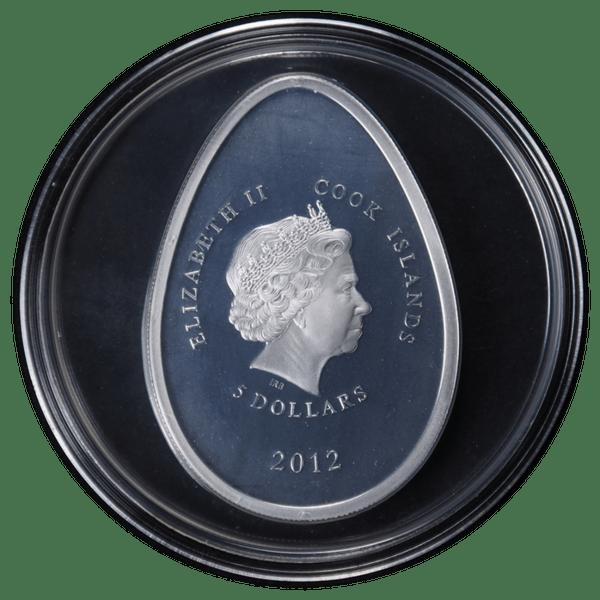 5 долларов 2012 года «Красное Яйцо Фаберже»