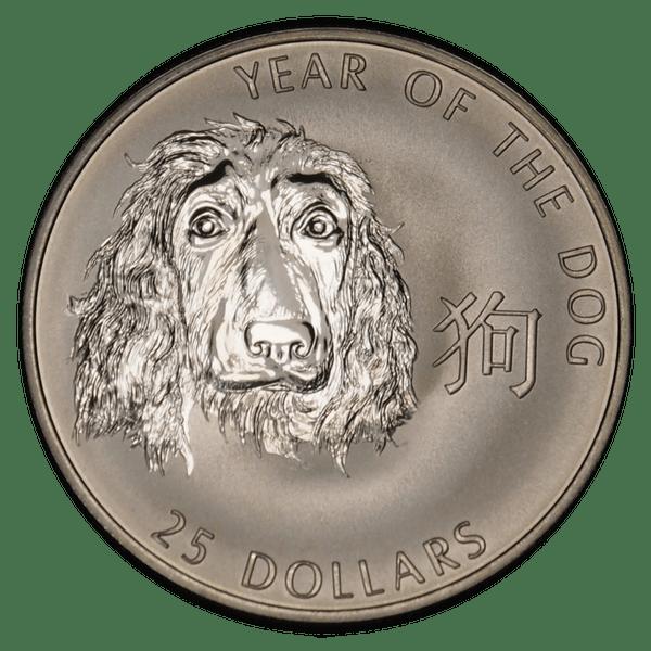 25 долларов 2006 года «Год Собаки»