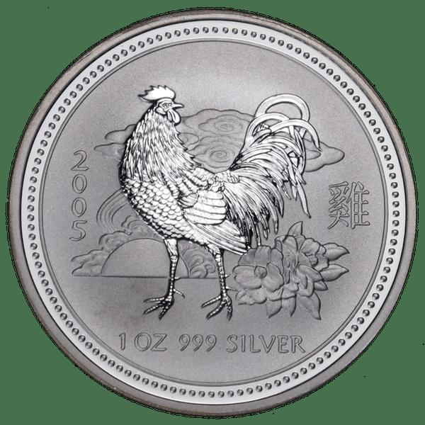 1 доллар 2005 года «Год Петуха. Лунар». Австралия
