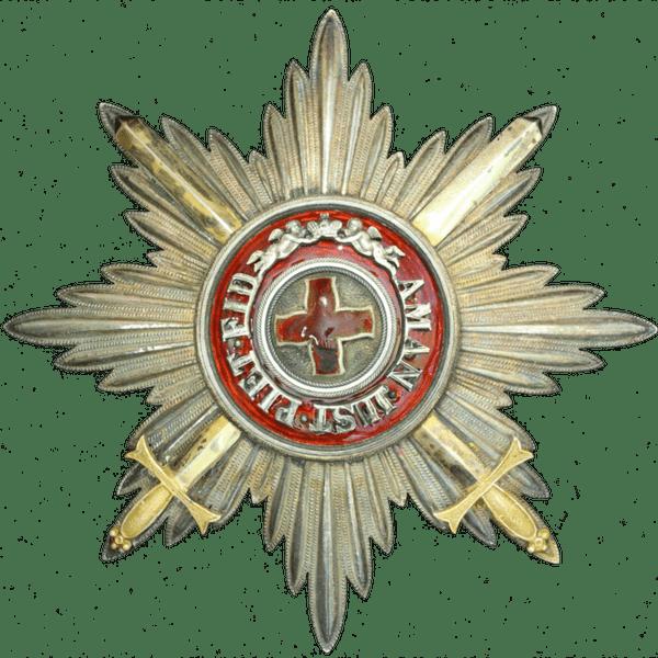 Звезда ордена Святой Анны за военные заслуги