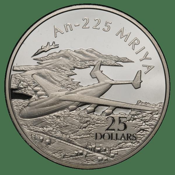 25 долларов 2003 года «Самолёты. Ан-225»