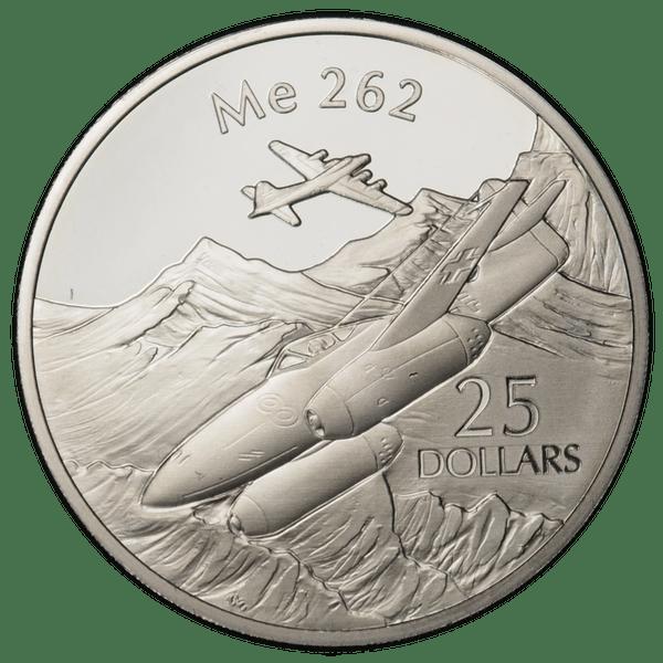 25 долларов 2003 года «Самолёты. Ме 262»