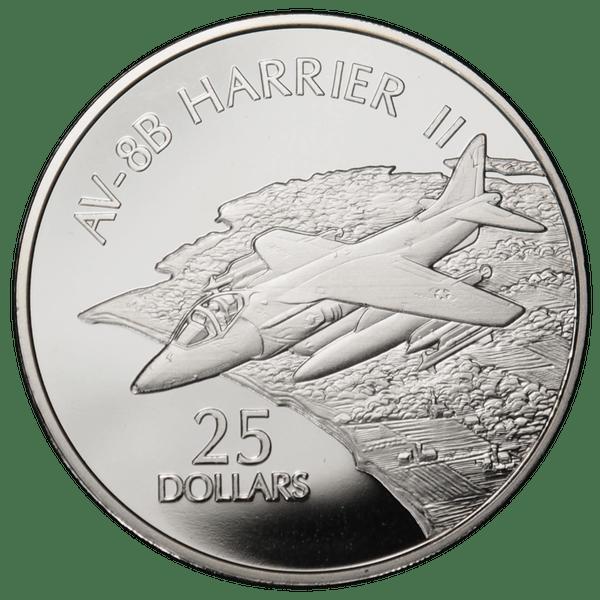 25 долларов 2003 года «Самолёты. AV-8B. Harrier II»
