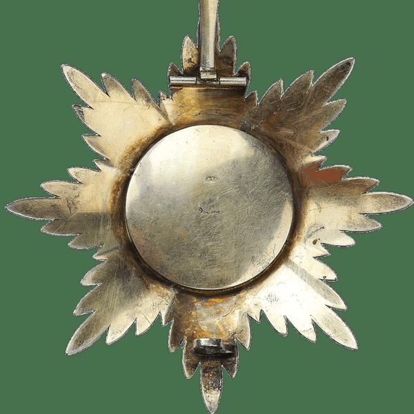 Звезда ордена Святого Владимира. 1880 год
