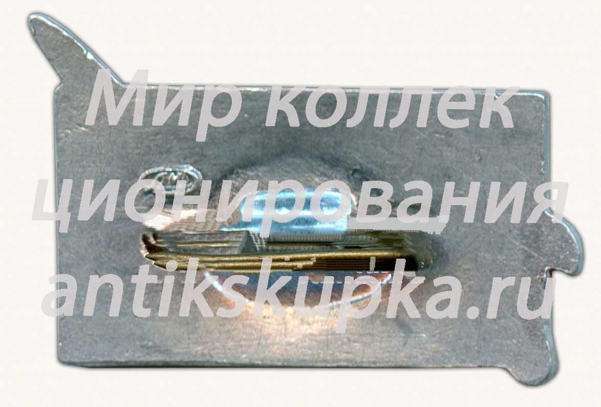 Знак «Пилотируемые космические корабли «Восток-3», «Восток-4» СССР. VIII.1962»