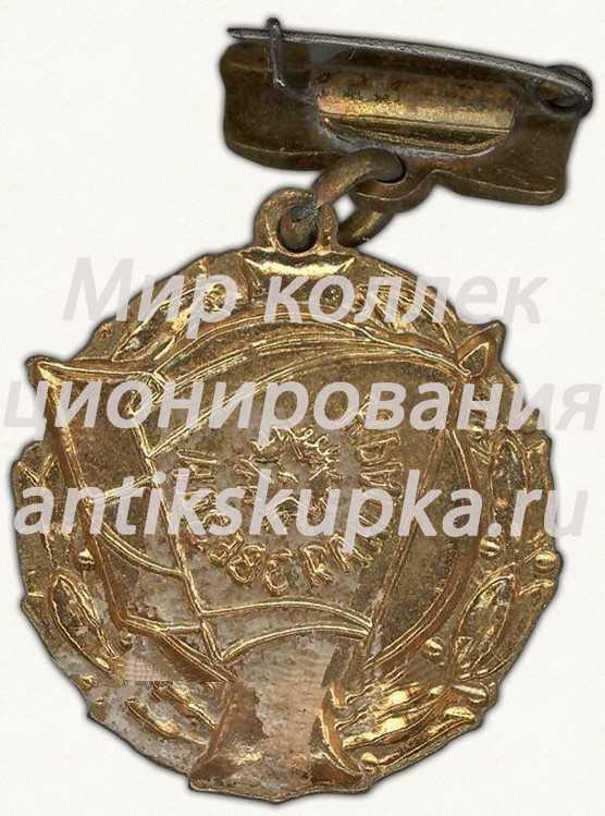 Членский знак ДСО «Красная звезда». Тип 2