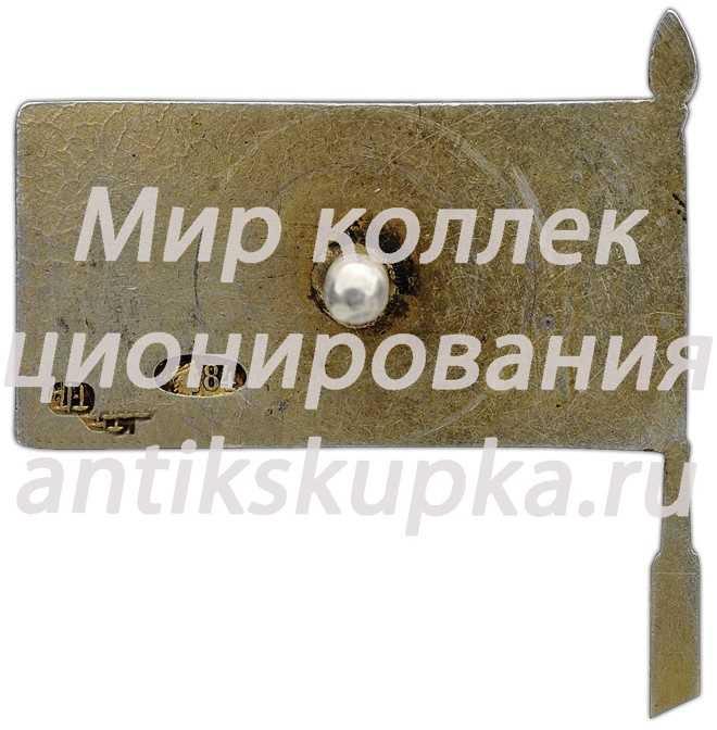 Членский знак Общества друзей воздушного флота (ОДВФ) СССР 3