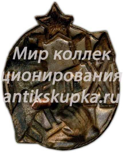 Юбилейный знак в честь 10-летия МОПР (Международная организация помощи борцам революции)