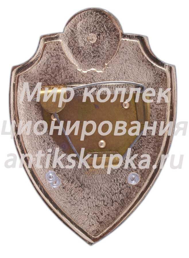 Нагрудный служебный знак сотрудника ГАИ