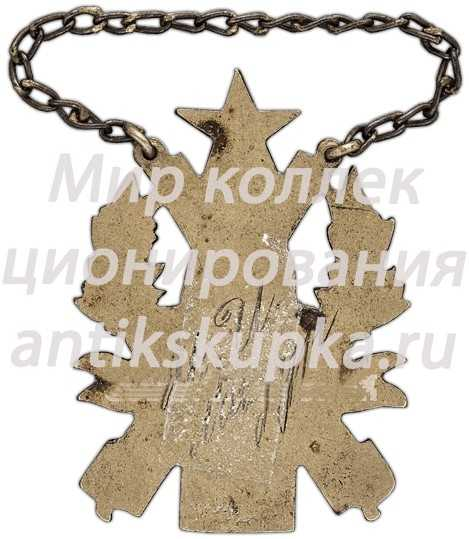 Жетон 4-й артиллерийской школы, II выпуск