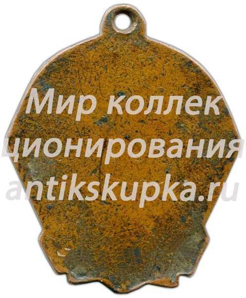 Жетон «Чемпион первенства Мордовской АССР. Хоккей с мячом»