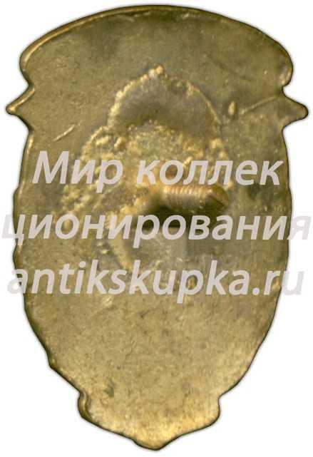 Знак «1 спартакиада ДСО «Трудовые резервы». Горные лыжи. 1948»