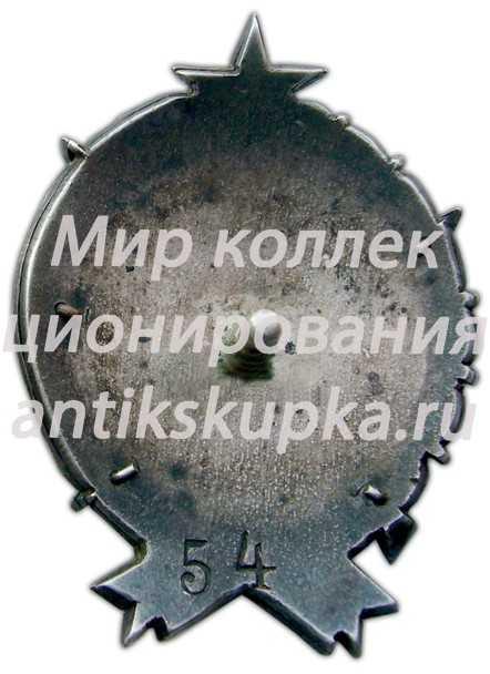 Знак «10 лет РКМ (Рабоче-крестьянская милиция) Грузинской ССР»