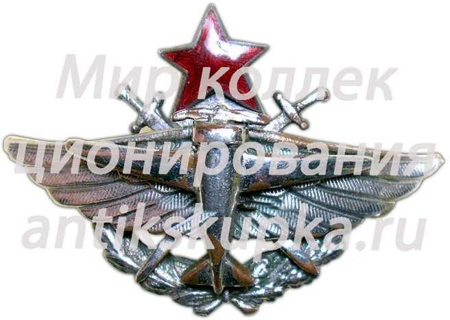 Знак «14 военная школа летчиков»