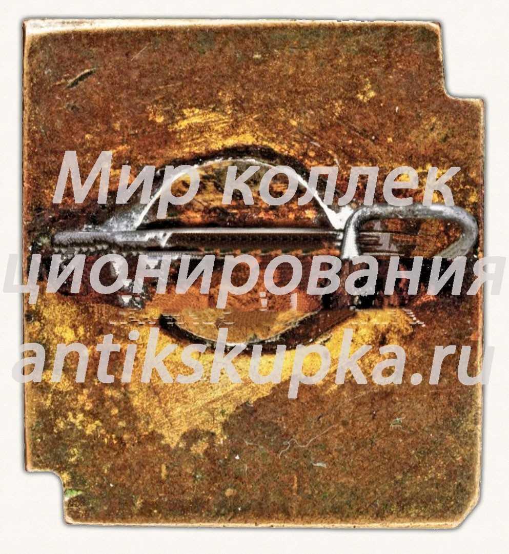 Знак «2-я Ленинградская областная Олимпиада художественной самодеятельности»