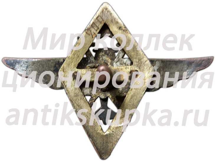 Знак «9 военной школы летчиков и летнабов»