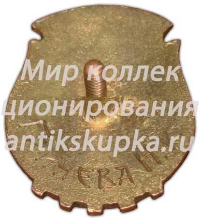 Знак чемпиона Курской области. Волейбол. 1946