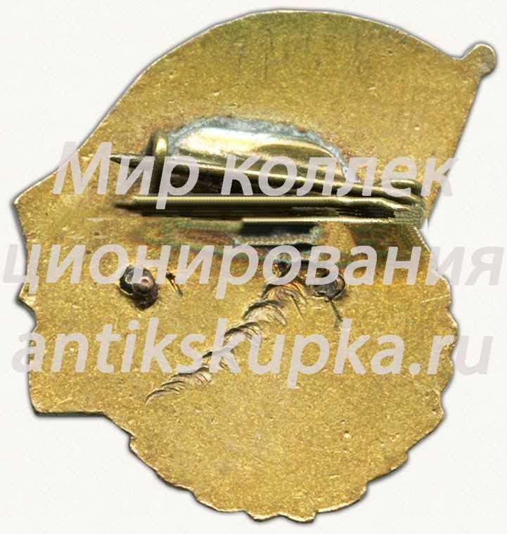 Знак «ДОСААФ СССР. Мотокросс. 1958»