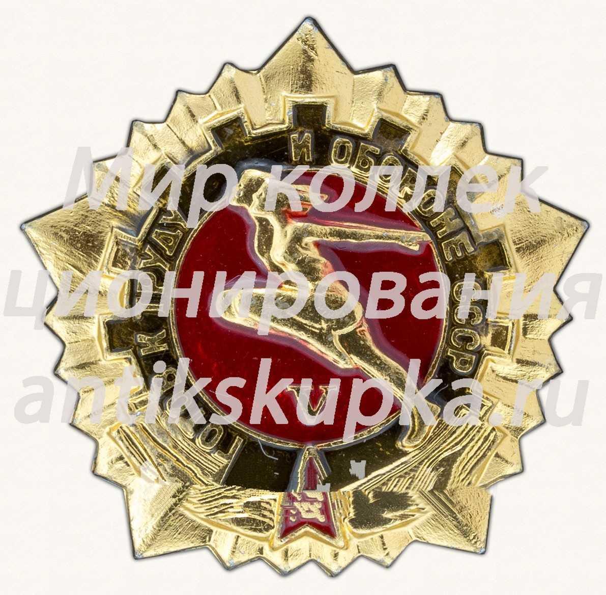 Знак «Готов к труду и обороне СССР (ГТО). V ступень» 2
