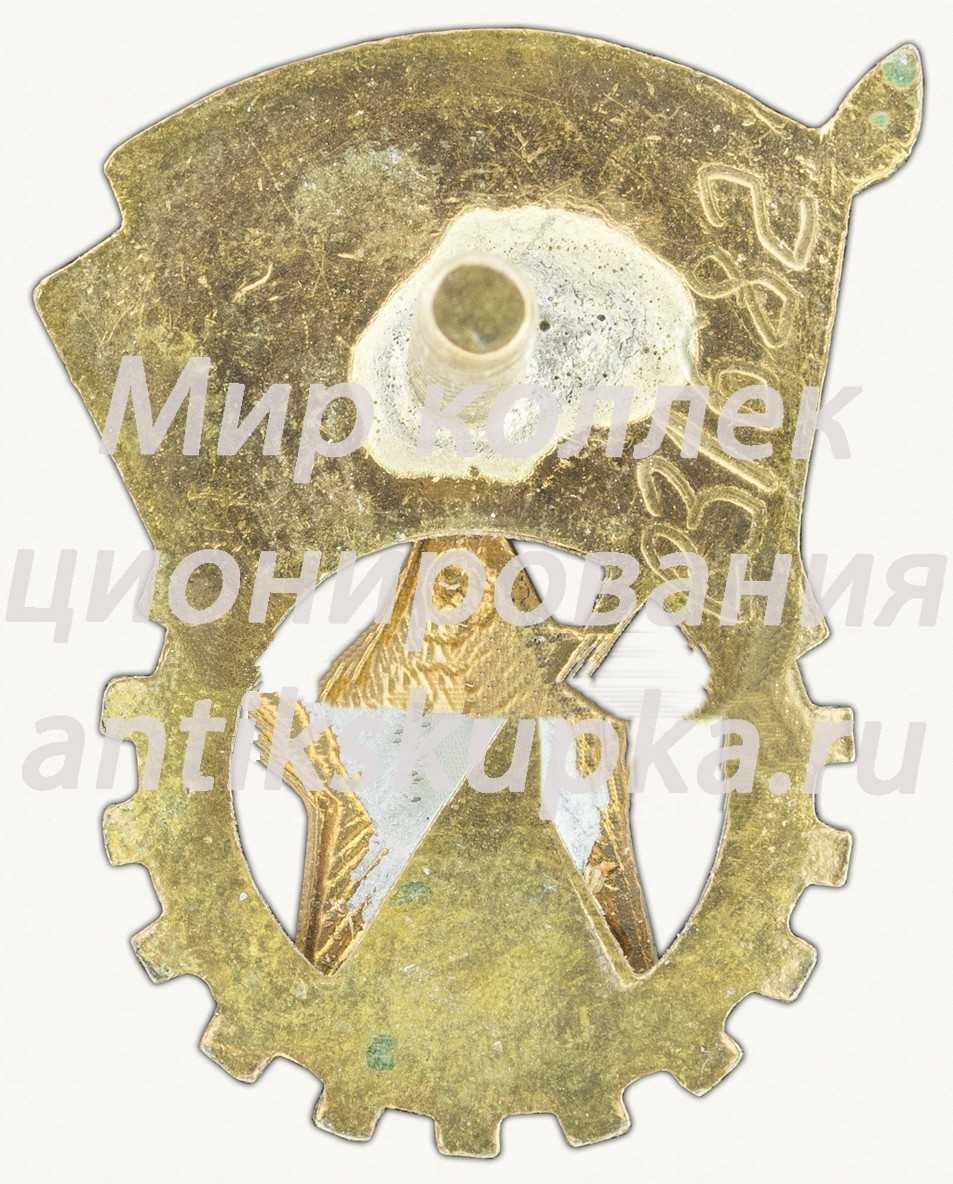 Знак «ГТО (Готов к труду и обороне) 2-й ступени (1946-1961)» 4