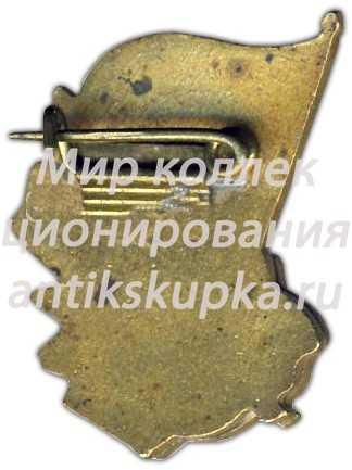 Знак «IV спартакиада. «Спартак». 1958»