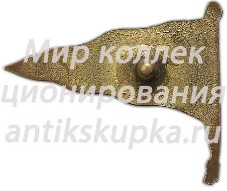 Знак «Ленинградский аэроклуб-музей. ОДВФ Северно-западной области»