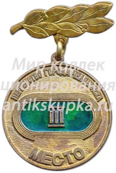 Знак «Первенство города Челябинска. III место»