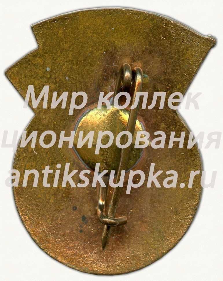 Знак «Сборная СССР по футболу. 1986»