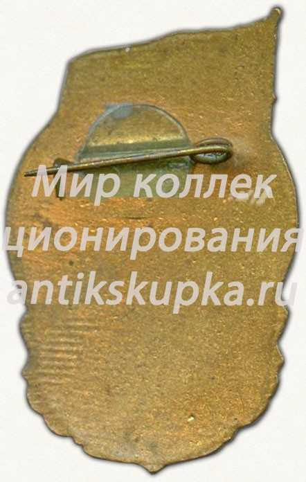 Знак «Спартакиада ВОГ и ДСО ТРУД г. Сталинград 1960»