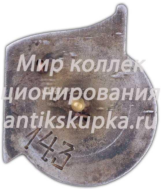 Знак в память 15-летия Центрального аэрогидродинамического института (ЦАГИ) 3