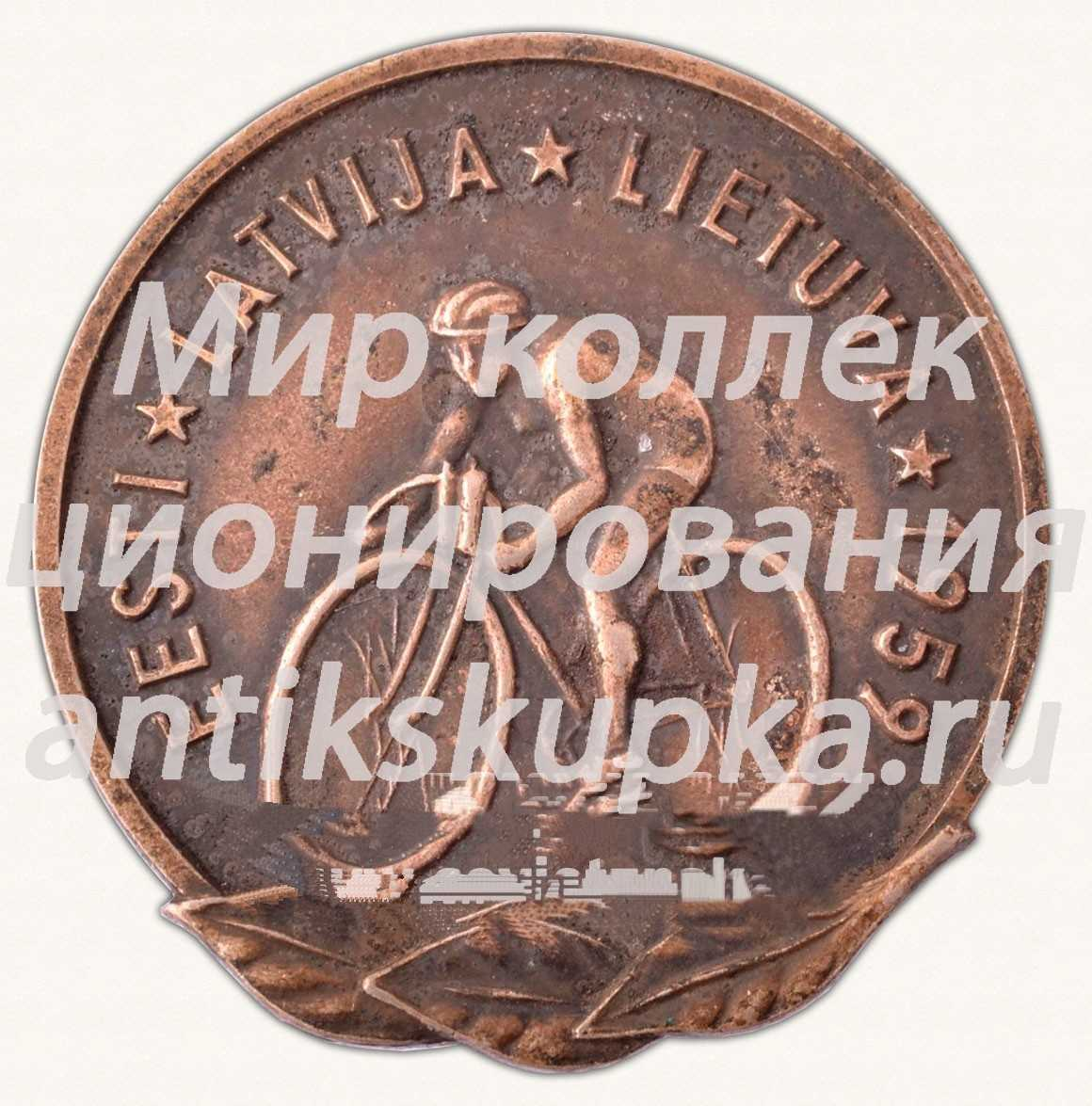 Знак «Велопробег «Эстония-Латвия-Литва»»