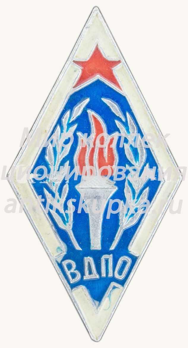 Знак «Всероссийское добровольное пожарное общество (ВДПО). Тип 2» 4