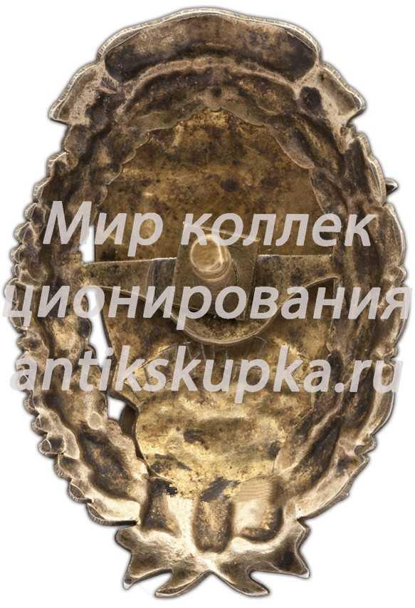 Знак «Всеукраинская школа Комсостава милиции имени Балицкого, XIII выпуск»