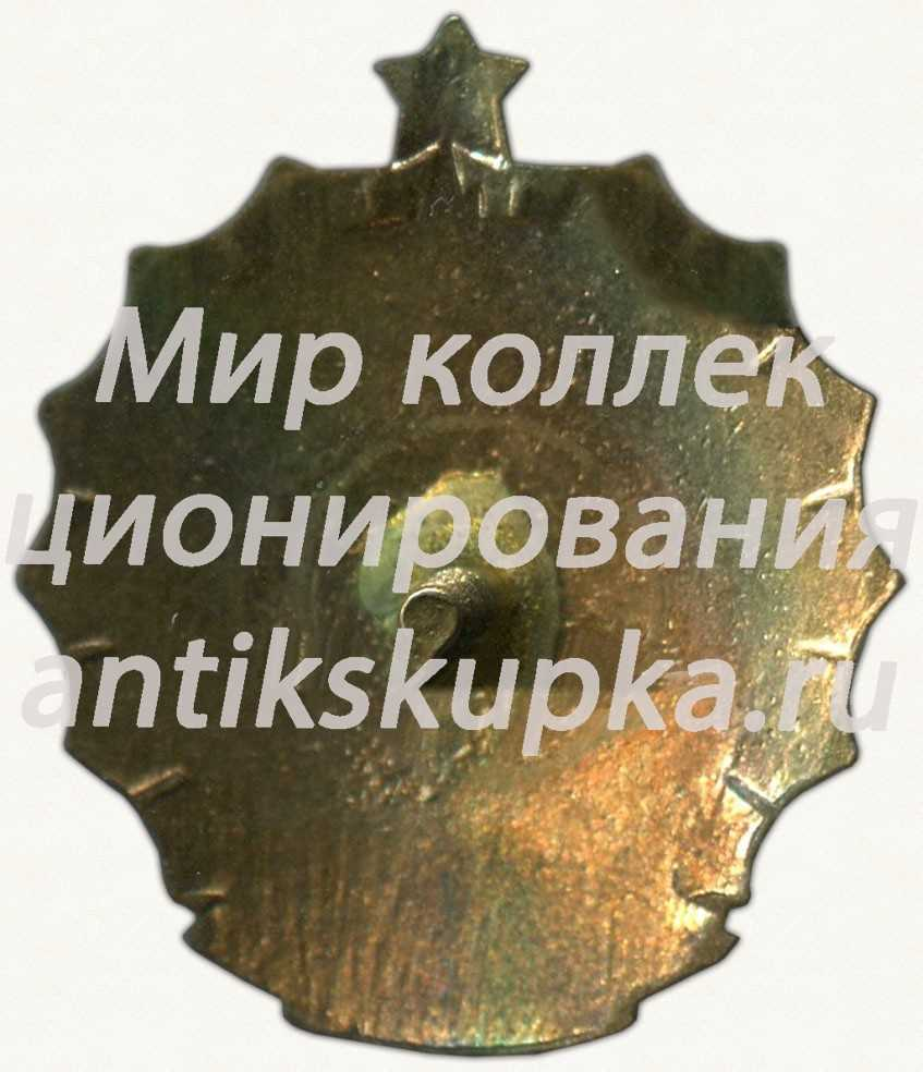 Знак за III место в первенстве Москвы. Гимнастика, брусья