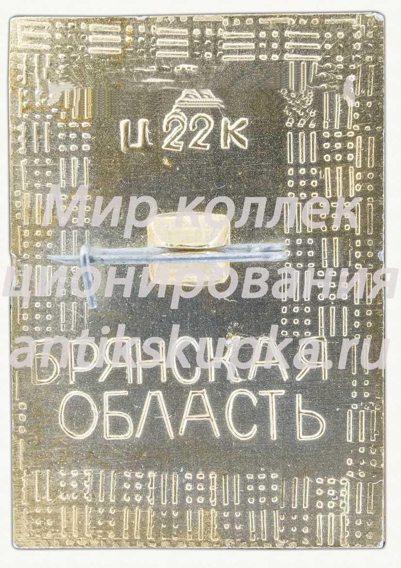 Знак «115 лет городу Жуковка (1868-1983). Брянская область»