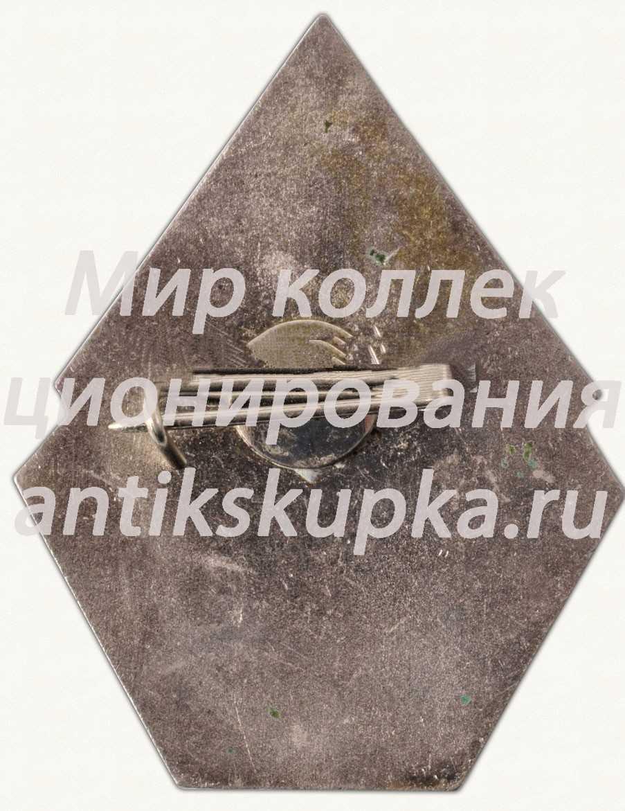 Знак «30 лет Рижскому хозторгу «RPSPTU»»