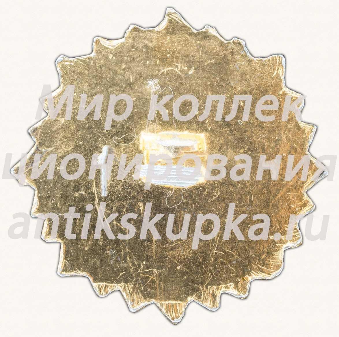 Знак «50 лет Автомобильной промышленности СССР»
