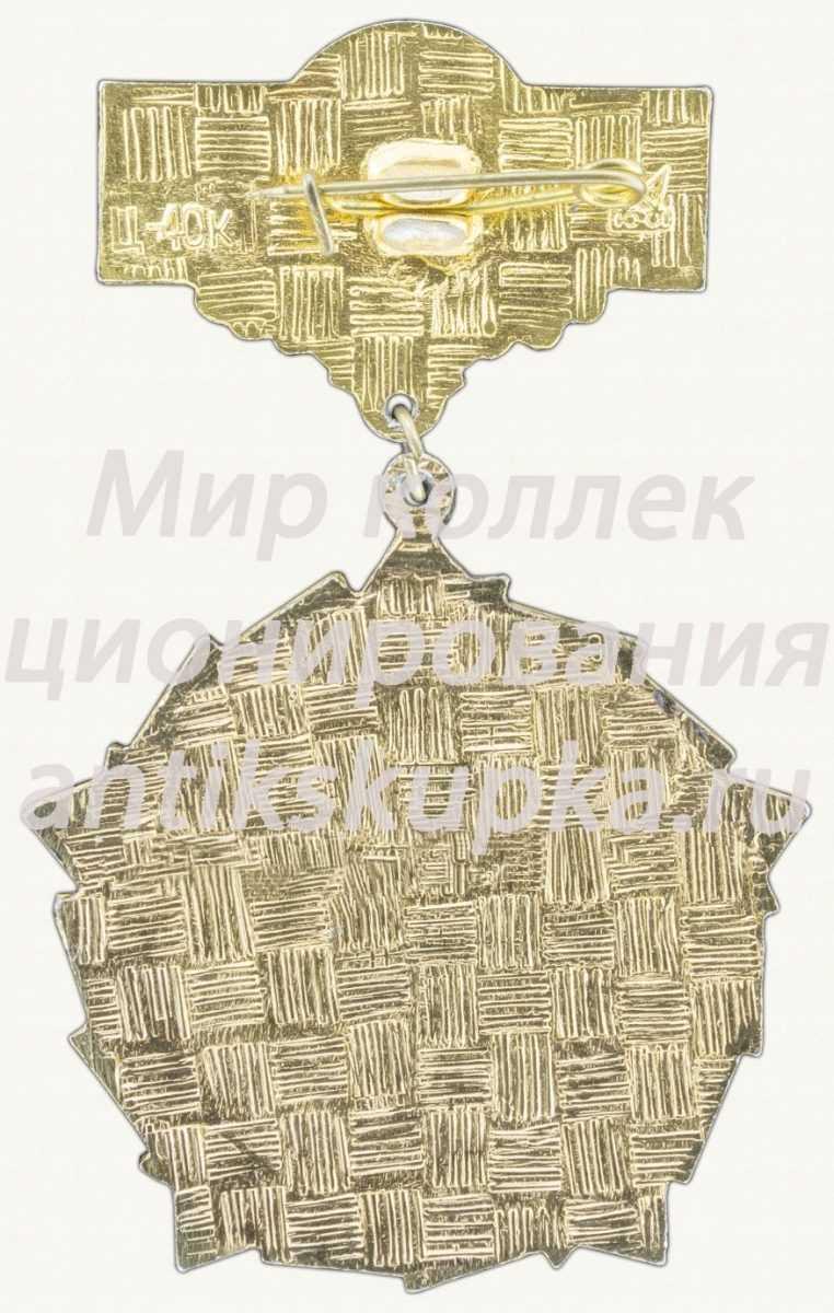 Знак «60 лет СССР (1922-1982) Тип 3»
