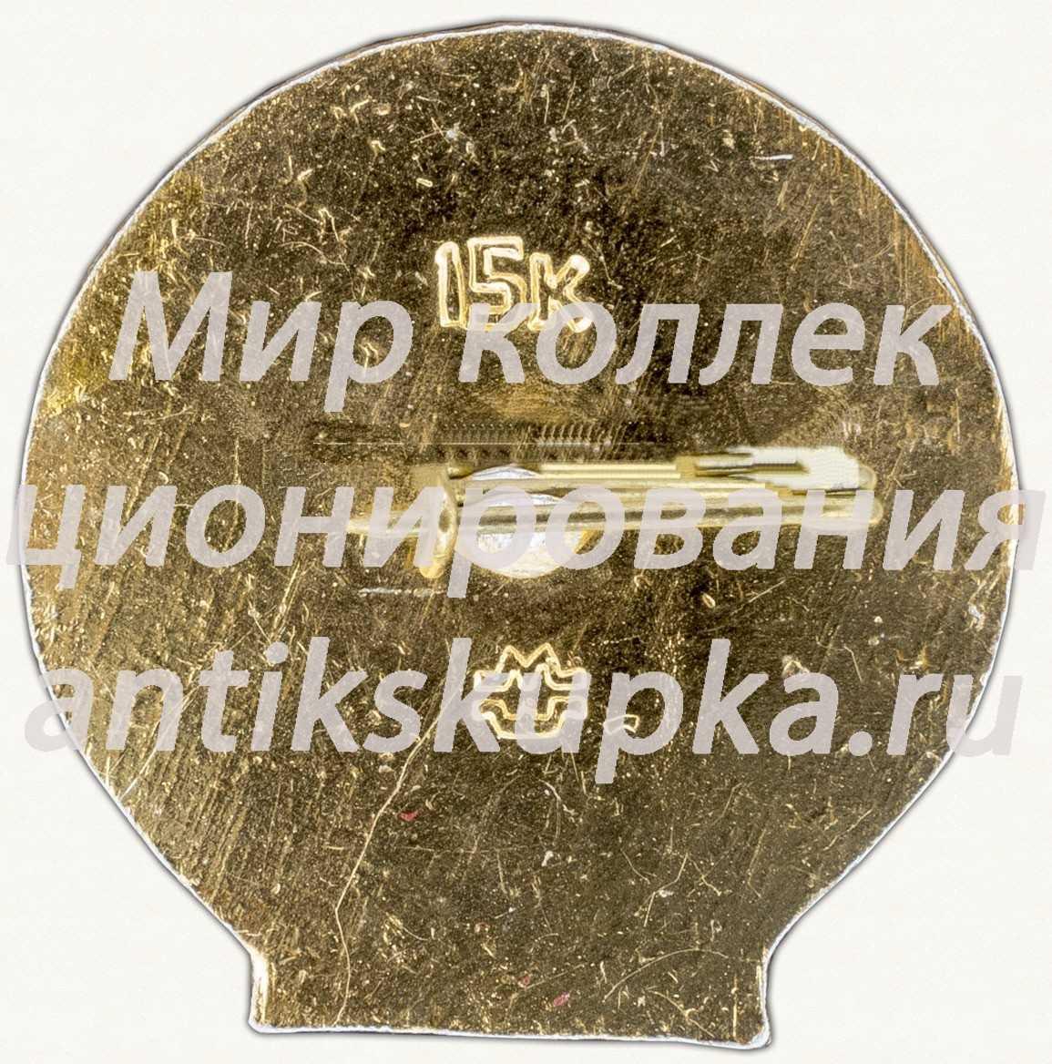 Знак «60 лет СССР. Тип 3»