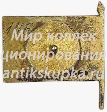 Знак депутата 2-го созыва ЦИК (Центральный исполнительный комитет) Таджикской АССР