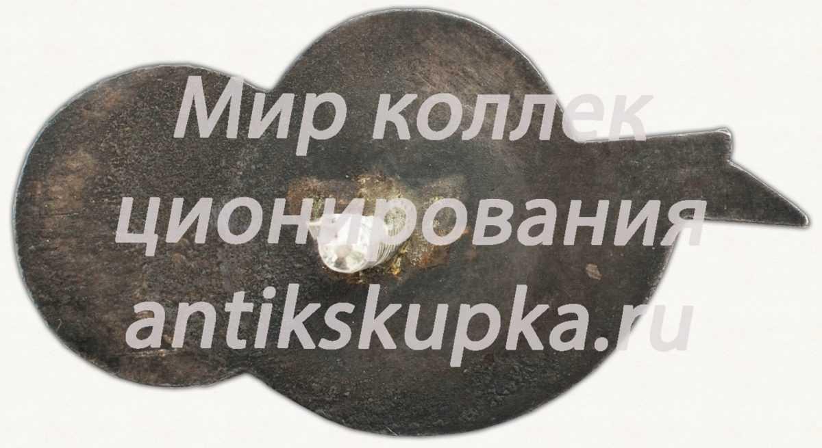 Знак «II Международный конгресс почвоведов»