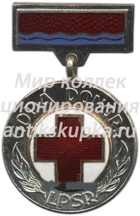 Знак «Почетный донор Латвийской ССР»
