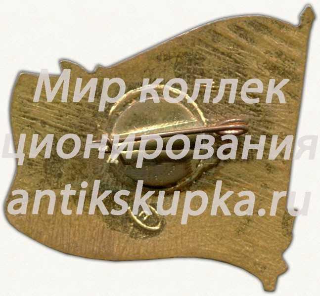 Знак «VI съезда учителей Туркменской ССР. Ашхабад. 1960»